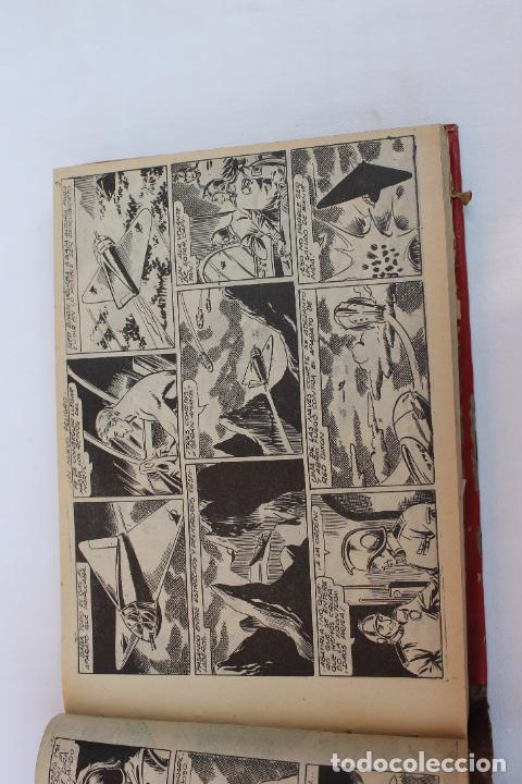 Tebeos: RED DIXON 1ª SERIE COMPLETA 70UNIDADES, ENCUADERNADOS 1954, EDITORIAL MARCO - Foto 14 - 277451483