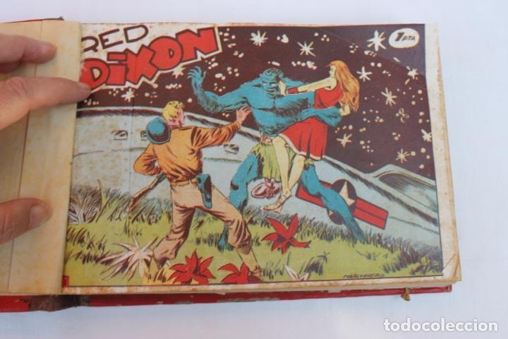 RED DIXON 1ª SERIE COMPLETA 70UNIDADES, ENCUADERNADOS 1954, EDITORIAL MARCO (Tebeos y Comics - Marco - Red Dixon)