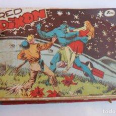 Tebeos: RED DIXON 1ª SERIE COMPLETA 70UNIDADES, ENCUADERNADOS 1954, EDITORIAL MARCO. Lote 277451483