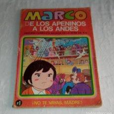 Tebeos: MARCO, DE LOS APENINOS A LOS ANDES. NÚM.1.. Lote 279352818
