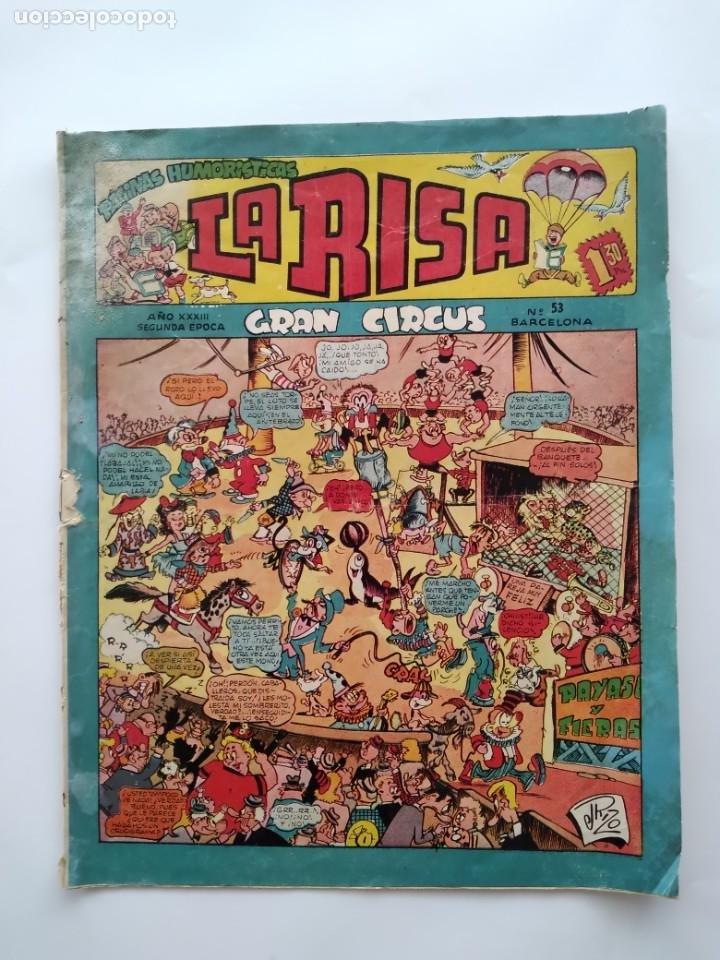 LA RISA Nº 53 GRAN CIRCUS EDI. MARCO RV (Tebeos y Comics - Marco - La Risa)