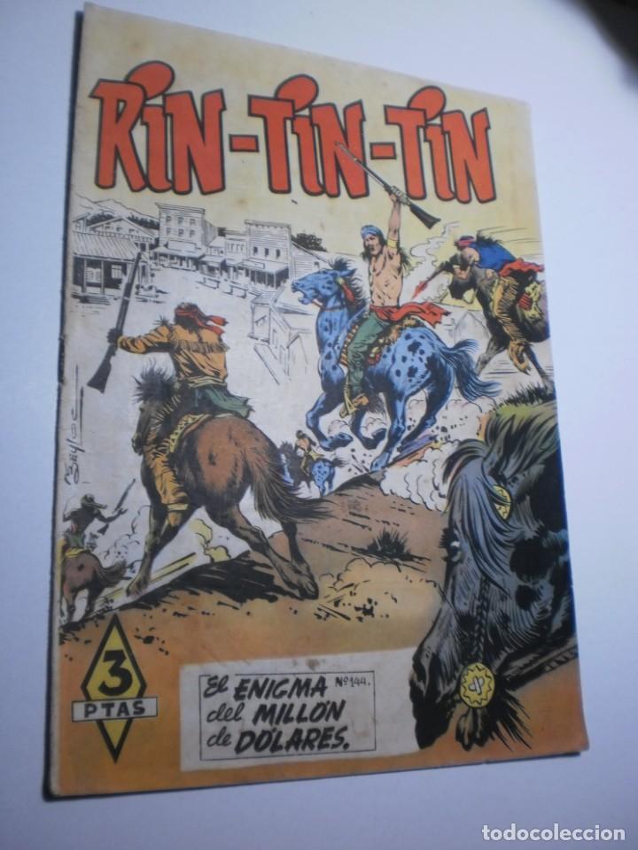 RIN TIN TIN Nº 144 EL ENIGMA DEL MILLÓN DE DÓLARES 1958 (BUEN ESTADO) (Tebeos y Comics - Marco - Rin-Tin-Tin)