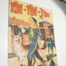 Tebeos: RIN TIN TIN Nº 74 EL RANCHO DEL VIEJO FLOBERRY 1958 (ALGÚN DEFECTO, LEER). Lote 280623473