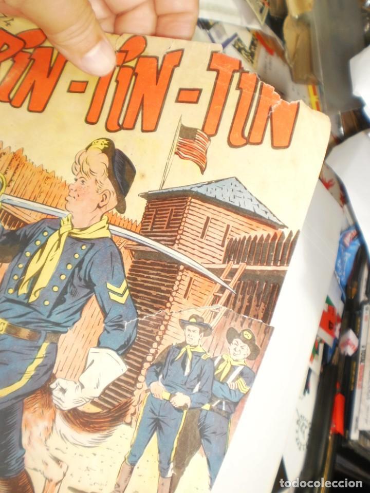 Tebeos: rin tin tin nº 74 el rancho del viejo floberry 1958 (algún defecto, leer) - Foto 2 - 280623473