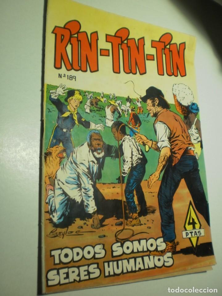 RIN TIN TIN Nº 189 TODOS SOMOS SERES HUMANO 1958 (MUY BUEN ESTADO) (Tebeos y Comics - Marco - Rin-Tin-Tin)
