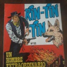 Tebeos: RIN-TIN-TIN COMIC Nº 191 UN HOMBRE EXTRAORDINARIO. Lote 283688283
