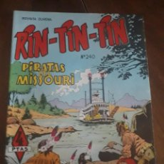 Tebeos: RIN-TIN-TIN COMIC Nº 240 PIRATAS DEL MISSOURI. Lote 283691568