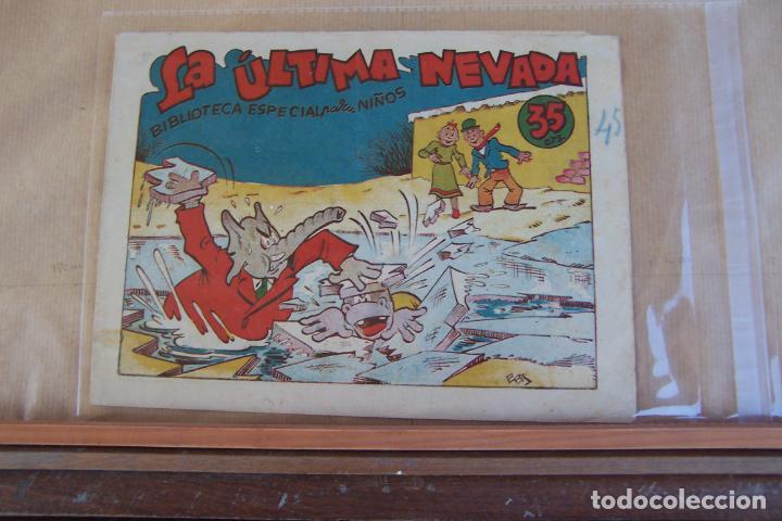 MARCO,-BIBLIOTECA ESPECIAL PARA NIÑOS, EN COPACABANA Y LA ULTIMA NEVADA, 35 CTS. (Tebeos y Comics - Marco - Hipo (Biblioteca especial))