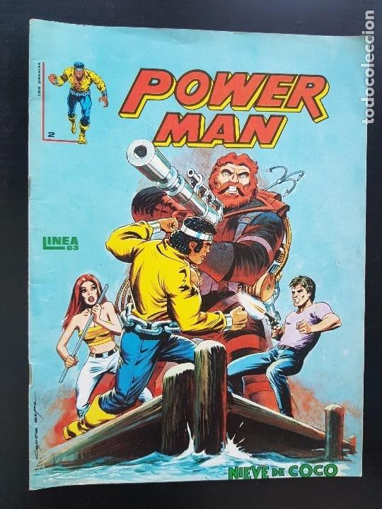 TEBEO / CÓMIC MUY BIEN POWER MAN N⁰ 2 SÚPER HÉROES 1983 LINEA 83 (Tebeos y Comics - Marco - Otros)