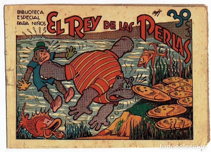 HIPO - EL REY DE LAS PERLAS - BIBLIOTECA ESPECIAL PARA NIÑOS - ORIGINAL - ED. MARCO 1942 - 30 CTS. (Tebeos y Comics - Marco - Hipo (Biblioteca especial))