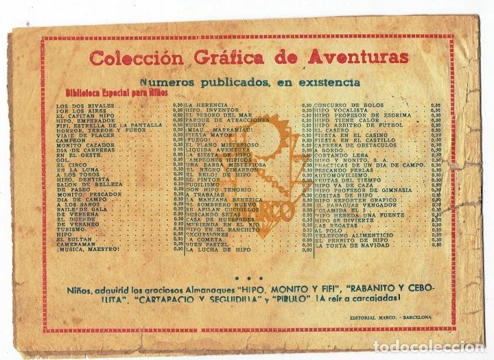Tebeos: HIPO - EL REY DE LAS PERLAS - BIBLIOTECA ESPECIAL PARA NIÑOS - ORIGINAL - ED. MARCO 1942 - 30 CTS. - Foto 2 - 287397073