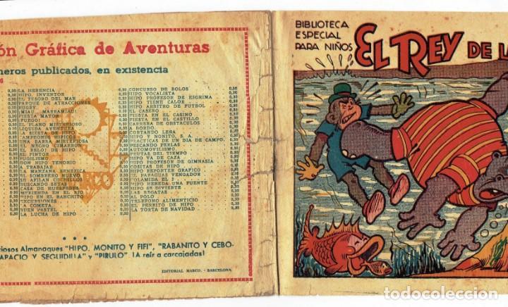 Tebeos: HIPO - EL REY DE LAS PERLAS - BIBLIOTECA ESPECIAL PARA NIÑOS - ORIGINAL - ED. MARCO 1942 - 30 CTS. - Foto 3 - 287397073