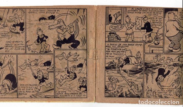 Tebeos: HIPO - EL REY DE LAS PERLAS - BIBLIOTECA ESPECIAL PARA NIÑOS - ORIGINAL - ED. MARCO 1942 - 30 CTS. - Foto 5 - 287397073