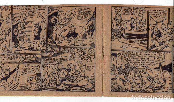 Tebeos: HIPO - EL REY DE LAS PERLAS - BIBLIOTECA ESPECIAL PARA NIÑOS - ORIGINAL - ED. MARCO 1942 - 30 CTS. - Foto 6 - 287397073