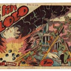 Tebeos: RED DIXON Nº 62 - EL FIN DEL LOCO - EDITORIAL MARCO 1955 - 1 PTA.. Lote 287397758