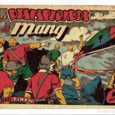 Tebeos: RED DIXON Nº 63 - LOS DESESPERADOS DE MANG - EDITORIAL MARCO 1955 - 1 PTA.. Lote 287397793