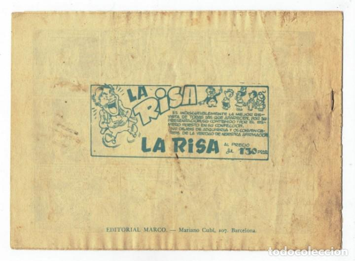Tebeos: RED DIXON 1ª SERIE - Nº 22 - SOTAR ATACA - EDITORIAL MARCO 1954 - ORIGINAL - Foto 2 - 287545913