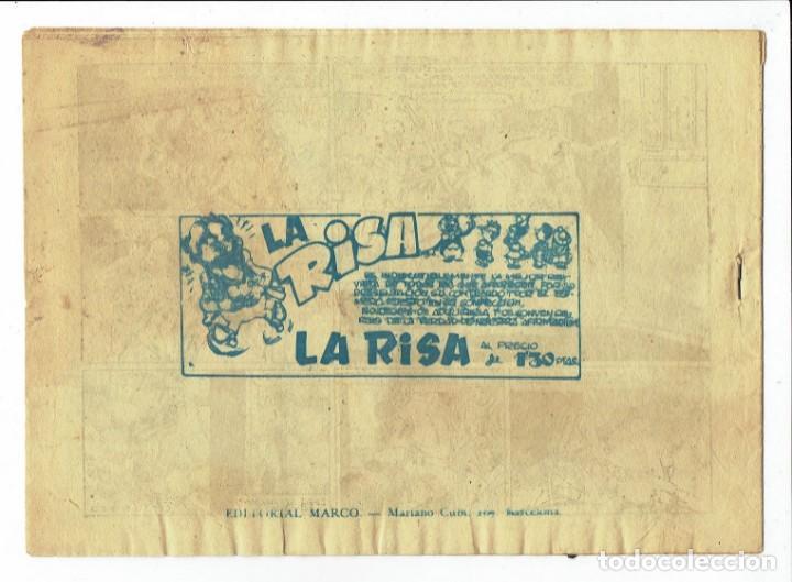 Tebeos: RED DIXON 1ª SERIE - Nº 47 - EL RESCATE DE ONDINA - EDITORIAL MARCO 1954 - ORIGINAL - Foto 2 - 287546663