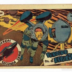 Tebeos: RED DIXON 2ª SERIE - Nº 16 - PERDIDO EN EL ESPACIO - EDITORIAL MARCO 1954 - ORIGINAL. Lote 287547603