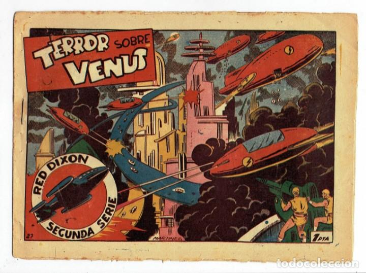 RED DIXON 2ª SERIE - Nº 27 - TERROR SOBRE VENUS - EDITORIAL MARCO 1954 - ORIGINAL (Tebeos y Comics - Marco - Red Dixon)