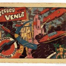Tebeos: RED DIXON 2ª SERIE - Nº 27 - TERROR SOBRE VENUS - EDITORIAL MARCO 1954 - ORIGINAL. Lote 287549293