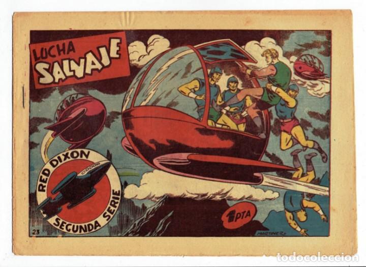 RED DIXON 2ª SERIE - Nº 23 - LUCHA SALVAJE - EDITORIAL MARCO 1955 - ORIGINAL (Tebeos y Comics - Marco - Red Dixon)