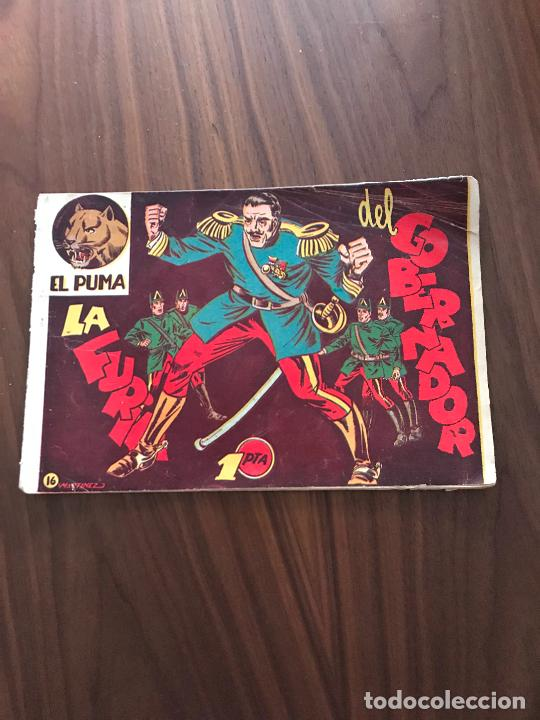 EL PUMA Nº 16 , ORIGINAL , EDITORIAL MARCO (Tebeos y Comics - Marco - Otros)