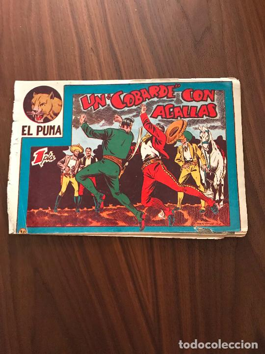 EL PUMA Nº 30 , ORIGINAL , EDITORIAL MARCO (Tebeos y Comics - Marco - Otros)