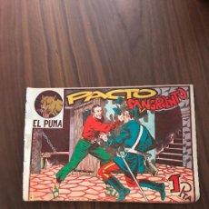 Tebeos: EL PUMA Nº 40 , ORIGINAL , EDITORIAL MARCO. Lote 288023748