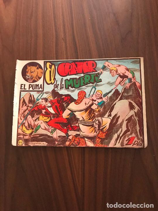 EL PUMA Nº 44 , ORIGINAL , EDITORIAL MARCO (Tebeos y Comics - Marco - Otros)