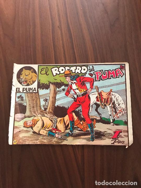 EL PUMA Nº 49 , ORIGINAL , EDITORIAL MARCO (Tebeos y Comics - Marco - Otros)
