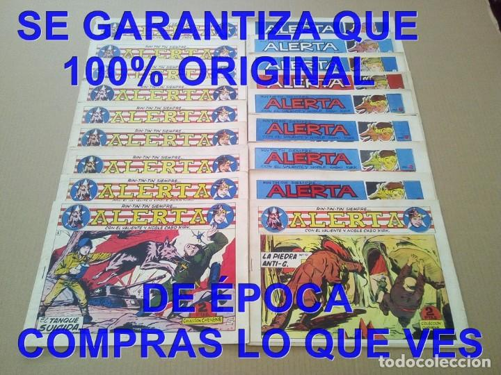 LOS ORIGINALES COLECCION COMPLETA RIN TIN TIN SIEMPRE ALERTA MARCO 18 TEBEOS 1959 U34 (Tebeos y Comics - Marco - Rin-Tin-Tin)