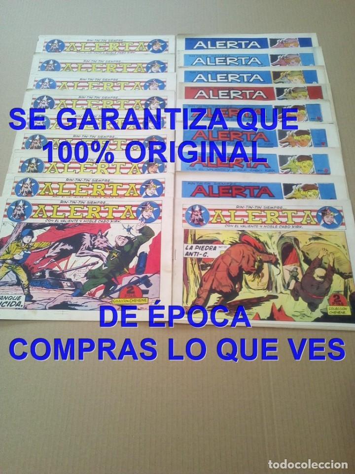Tebeos: LOS ORIGINALES COLECCION COMPLETA RIN TIN TIN SIEMPRE ALERTA MARCO 18 TEBEOS 1959 U34 - Foto 2 - 288642338
