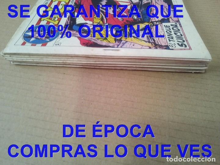 Tebeos: LOS ORIGINALES COLECCION COMPLETA RIN TIN TIN SIEMPRE ALERTA MARCO 18 TEBEOS 1959 U34 - Foto 3 - 288642338
