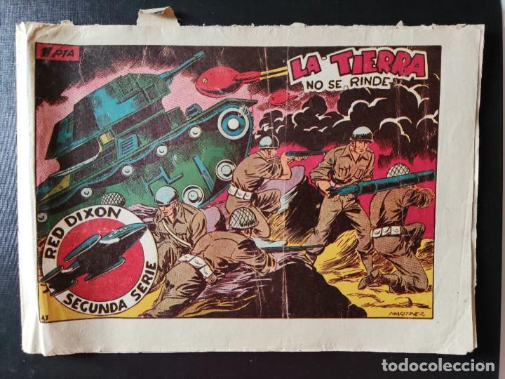 TEBEO- RED DIXON- LA TIERRA NO SE RINDE (Tebeos y Comics - Marco - Red Dixon)
