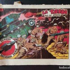 Tebeos: TEBEO- RED DIXON- LA TIERRA NO SE RINDE. Lote 289270228