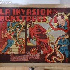 Tebeos: CESAR EL HOMBRE RELAMPAGO. PORTADA ORIGINAL LA INVASION DE LOS MONSTRUOS SIN PAGINAS INTERIORES. Lote 293964848