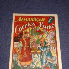 Tebeos: (M1) ALMANAQUE DE LOS CUENTOS DE HADAS - EDT MARCO, JUEGUETE RECORTABLE - BUEN ESTADO. Lote 295024868