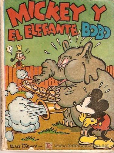 MICKEY Y EL ELEFANTE BOBO AÑO 1936 (Tebeos y Comics - Molino)