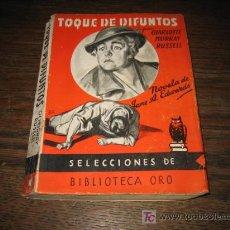 Tebeos: TOQUE DE DIFUNTOS POR CHARLOTTE MURRAY RUSSLL EDITORIAL MOLINO 1945. Lote 6229059