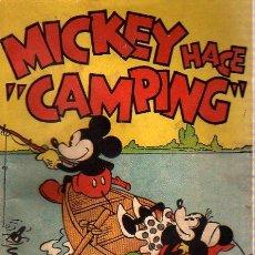 Tebeos: CUENTO MOLINO MICKEY MOUSE WALT DISNEY - MICKEY HACE CAMPING AÑO 1936. Lote 6246060