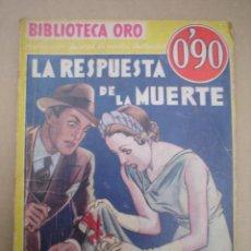 Tebeos: EDITORIAL MOLINO--BIBLIOTECA ORO--Nº 9. Lote 6996086