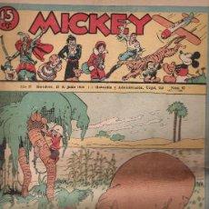 Tebeos: MICKEY Nº 67. MOLINO 1935.. Lote 20221550