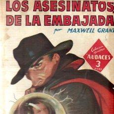 Tebeos: COLECCION HOMBRES AUDACES Nº 189 - ED.MOLINO JULIO 1948. Lote 22851561