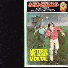 Giornalini: ALFRED HITCHCOCK LOS TRES INVESTIGADORES MISTERIO DEL DOBLE MORTAL N28 1988. Lote 28418195
