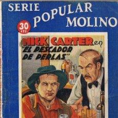 Tebeos: NICK CARTER EN EL PESCADOR DE PERLAS - SERIE POPULAR MOLINO Nº 95 - 1935. Lote 30098429