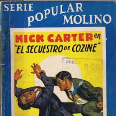 Tebeos: NICK CARTER EN EL SECUESTRO DE COZINE - SERIE POPULAR MOLINO - Nº 128 - 1936. Lote 30098446