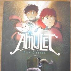 Livros de Banda Desenhada: AMULET: EL PORTADOR DE LA PIEDRA. KAZU KIBUISHI EDITORIAL MOLINO. PRIMERA EDICION 2009. Lote 30626162