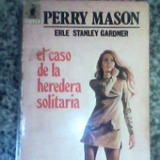 Tebeos: PERRY MASON EN EL CASO DE LA HEREDERA SOLITARIA (ERLE S. GARDNER) -MOLINO - ESPAÑA - 1971. Lote 30753310