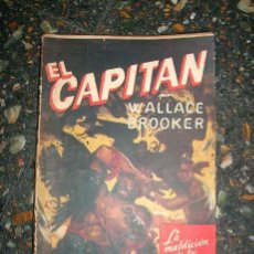 Tebeos: EL CAPITAN - LA MALDICION DE LOS CRANEOS, POR WALLACE BROOKER - Nº 331 - MOLINO - 1949. Lote 31042774